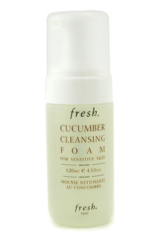 Cucumber Cleansing Foam - For Sensitive Skin (Unboxed) by Fresh for Unisex Cleanser