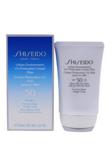 Urban Environment UV Protection Cream Plus SPF 50 (For Face & Body) by Shiseido for Unisex - 1.8 oz SPF Cream