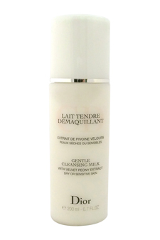 Christian Dior Gentle Cleansing Milk (For Dry/ Sensitive Skin) 6.7oz