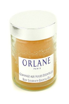 Body Scrub with Essential Oils by Orlane for Unisex Scrub