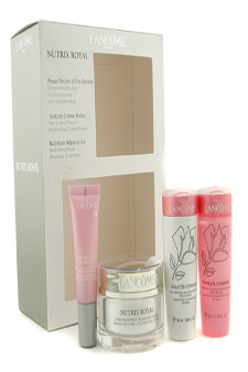 Nutrix Royal Creme Set: Cream 50ml/1.7oz + Confort Galatee + Confort Tonique + ? by Lancome for Unisex - 3 Pcs Gift Set $ 65.44