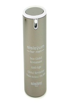 Sisleyum for Men Anti-Age Global Revitalizer - Dry Skin by Sisley for Men - 1.7 oz Night Care Cream