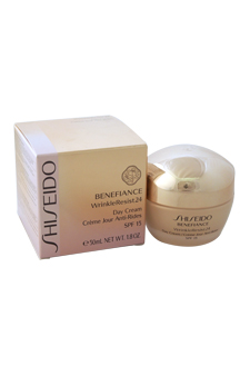 Benefiance WrinkleResist24 Day Cream SPF 15 by Shiseido for