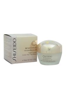 Benefiance WrinkleResist24 Night Cream by Shiseido for Unise
