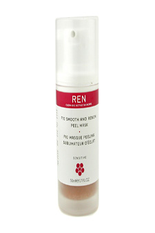 F10 Smooth & Renew Peel Mask (For Sensitive Skin) by Ren for Unisex - 1.7 oz Mask