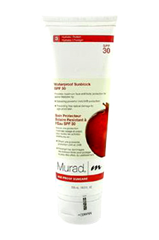 Waterproof Sunblock SPF30 by Murad for Unisex SPF Treatment