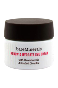 i.d. Renew &amp; Hydrate Eye Cream by Bare Escentuals for Unisex Tonning Water (For Combination To Oily Skin)