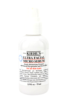 Ultra Facial Micro Serum by Kiehl's for Unisex - 2.5 oz Serum