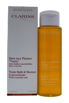 Tonic Shower Bath Concentrate by Clarins for Unisex - 6.7 oz Bath Concentrate