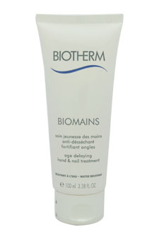 Biomains Age Delaying Hand & Nail Treatment by Biotherm for Unisex - 3.3 oz Hand & Nail Care