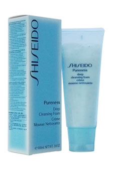 Pureness Deep Cleansing Foam by Shiseido for Unisex - 3.6 oz