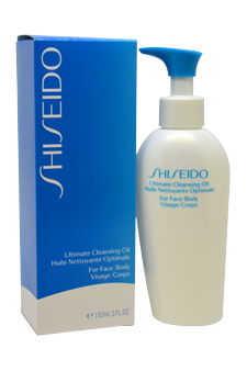 Ultimate Cleansing Oil For Face and Body by Shiseido for Unisex - 5 oz Clean