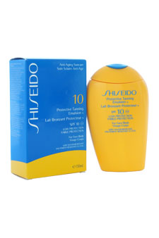 Protective Tanning Emulsion N SPF 10 (For Face and Body) by Shiseido for Unisex - 150 ml Self-Tanning