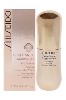 Benefiance NutriPerfect Eye Serum by Shiseido for Unisex - 0.5 oz Serum