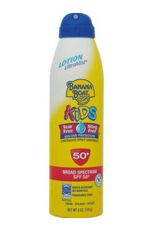 UltraMist Kids Tear-Free Sting-Free Continuous Lotion Spray Sunscreen SPF 50