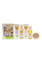 Baby Bee Getting Started Kit by Burt's Bees for Kids - 5 Pc Kit 1.0oz Baby Bee Nourishing Lotion Original, 1.8oz Baby Bee Shampoo & Wash, 0.75oz Baby Bee Cream-to-Powder,1oz Baby Bee Nourishing Baby Oil, 0.8oz Baby Bee Bittermilk Soap
