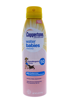 Coppertone Water Babies Sunscreen Lotion Spray SPF 50
