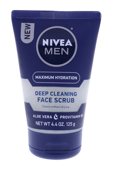 Revitalizing Face Scrub for Men - 4.4 oz Face Scrub
