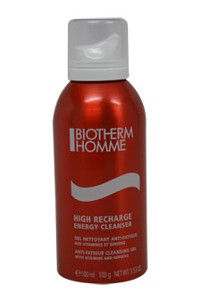 Homme High Recharge Anti-Fatigue Cleansing Gel for Men Cleansing Gel