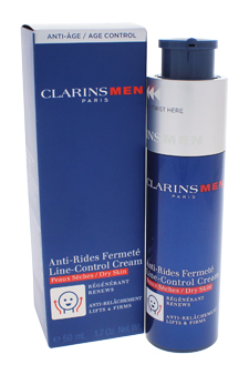 Men Line-Control Cream - Dry Skin by Clarins for Men - 1.7 oz Cream