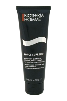 Force Supreme Smoothing & Resurfacing Daily Cleanser by Biotherm for Men - 4.22 oz Cleanser