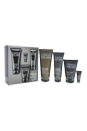 Great Skin for Him - Normal To Oily Skin by Clinique for Men - 4 Pc Kit 3.4oz Face Scrub Exfoliant, 6.7oz Oil Control Face Wash, 3.4oz Oil Control Mattifying Moisturizer, 0.17oz Anti-Fatigue Eye Gel