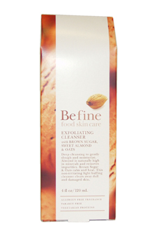 Exfoliating Cleanser with Brown Sugar, Sweet Almond & Oats by Befine for Unisex - 4 oz Cleanser