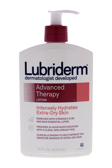 Advanced Therapy Lotion by Lubriderm for Unisex - 16 oz Lotion
