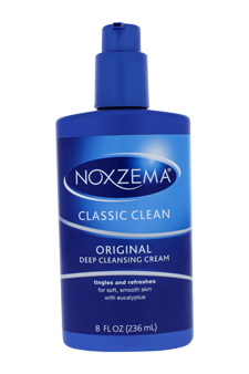 Clean Moisture Deep Cleansing Cream by Noxzema for Unisex - 8 oz Cream