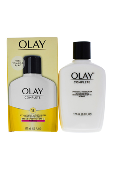 Olay Complete All Day UV Moisturizer SPF 15 by Olay for Unisex - 6 oz Moisturizer