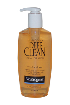 Deep Clean Facial Cleanser Normal to Oily Skin by Neutrogena for Unisex - 6.7 oz Cleanser