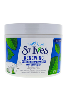 Timeless Skin Collagen Elastin Facial Moisturizer by St. Ives for Unisex - 10 oz Moisturizer