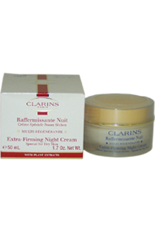Extra Firming Night Cream for Dry Skin by Clarins for Unisex Cream