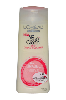 L'Oreal Deep Cream Cleanser by L'Oreal for Unisex Cream