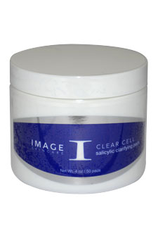 Clear Cell Salicylic Clarifying Pads by Image for Unisex - 50 Pc Pads