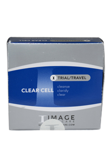 Clear Cell Travel Kit by Image for Unisex - 5 Pc Kit 0.25oz Salicylic Gel Cleanser, 0.25oz Hydrating Anti-Aging Serum, 0.25oz Moisturizer SPF 30, 0.25oz Masque, 0.25oz Lotion