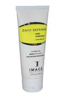 Daily Defense Matte Moisturizer Oil Free SPF 30 by Image for Unisex Moisturizer