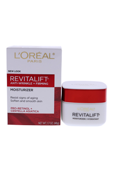 Revitalift Anti-Wrinkle & Firming Moisturizer For Face & Neck by L'Oreal Paris for Unisex - 1.7 oz Contour Cream