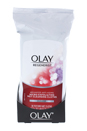 Regenerist Advanced Anti-Aging Wet Cleansing Cloths by Olay for Unisex - 30 Pc Cloths