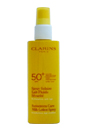 Sunscreen Care Milk-Lotion Spray High Protection SPF 50+ by Clarins for Unisex - 5.3 oz Sun Care (Unboxed)