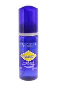 Immortelle Brightening Cleansing Foam by L'Occitane for Unisex - 5.1 oz Cleanser