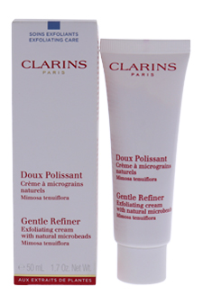 Gentle Exfoliating Refiner Cream with Microbeads for Unisex - 1.7 oz Cream