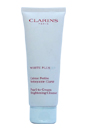 White Plus HP Pearl-To-Cream Brightening Cleanser by Clarins for Unisex - 4.4 oz Cleanser (Unboxed)