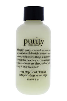 Purity Made Simple One Step Facial Cleanser by Philosophy for Unisex - 3 oz Cleanser