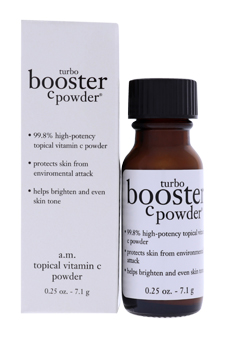 Turbo Booster C Powder by Philosophy for Unisex - 0.25 oz Powder