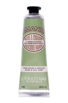 Almond Delicious Hands Cream by L'occitane for Unisex - 1 oz Hand Cream