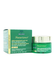 Nuxuriance Anti-Aging Re-Densifying Day Cream by Nuxe for Unisex - 1.6 oz Cream