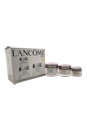Renergie Power of 3 Anti-Wrinkle-Firming Program Set - All Skin Types by Lancome for Unisex - 3 Pc Set 1.7oz Renergie Double Performance Treatment-Anti Wrinkle Firming, 2.5oz Renergie Night Treatment-Anti Wrinkle Restoring, 0.5oz Renergie Eye Specific Anti-Wrinkle and Firming Eye Cream
