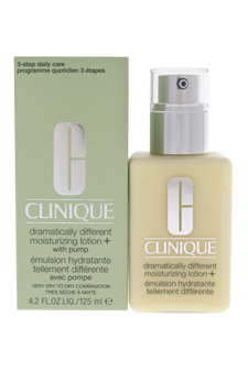 Dramatically Different Moisturizing Lotion+ - Very Dry To Dry Combination Skin by Clinique for Unisex - 4.2 oz Moisturizer