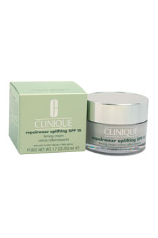 Repairwear Uplifting SPF 15 Firming Cream - Very Dry To Dry Skin by Clinique for Unisex - 1.7 oz Cream